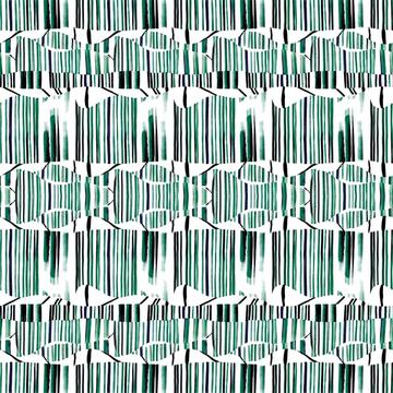 Abstract stripes olive green
