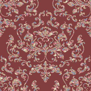 Damask Variations Tea Shoppe Carpet on 823E3F