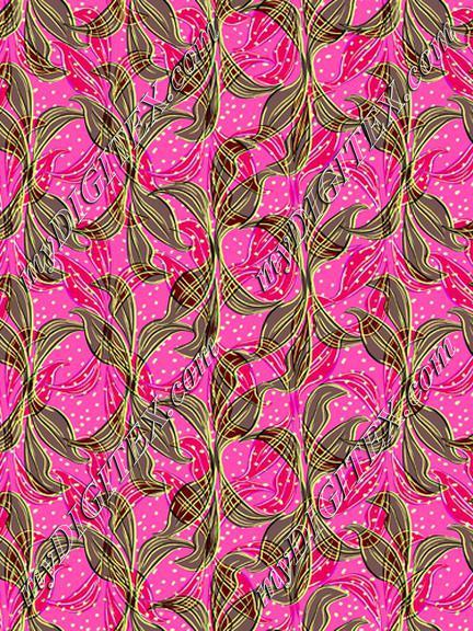 Leaves print tropical pink