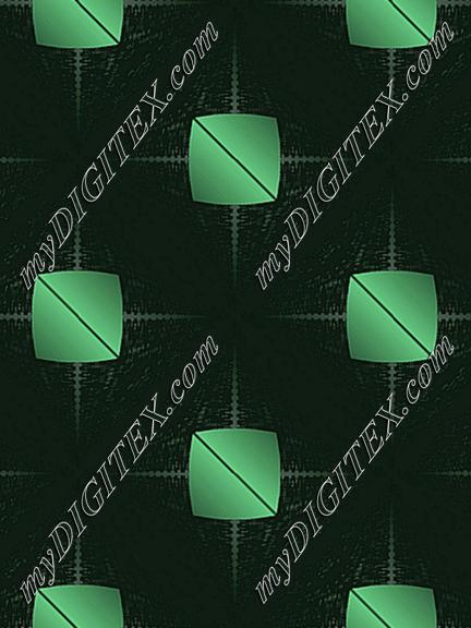 Black and green pattern