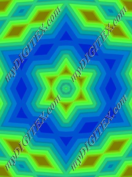 Neon glow stars