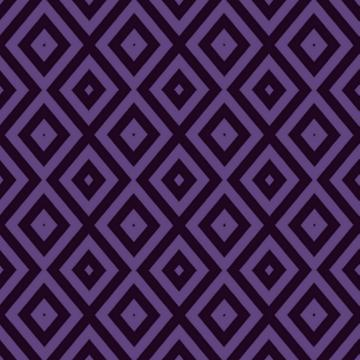 Purple and black geometric print