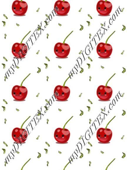 cherry fruit kawaii