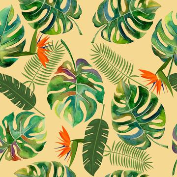 Tropical Leaves on neutral
