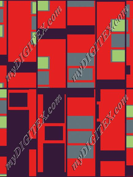 Rectangles in retro colors