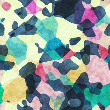 Watercolors shapes