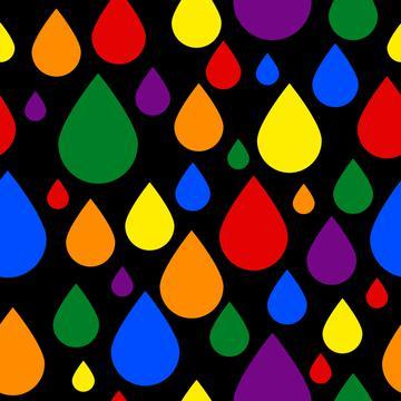 Raining Pride (on black)
