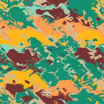 Texture in retro colors