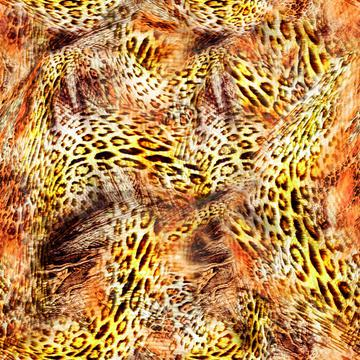 leopard print texture