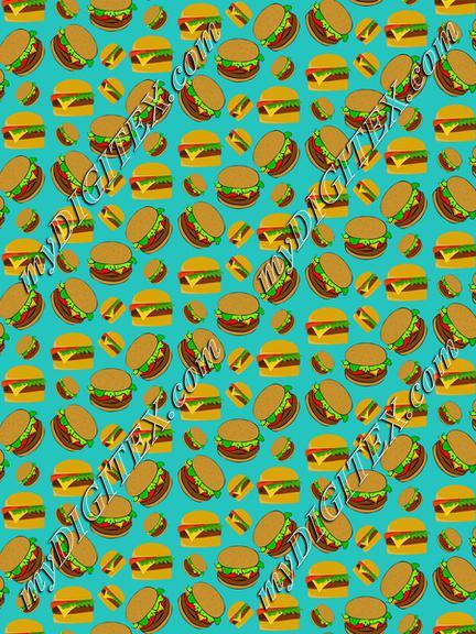 Burgers pattern