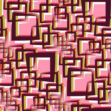 Vintage Geometric squares