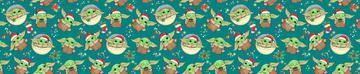 Yoda Christmas Teal