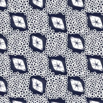 shibori pattern.