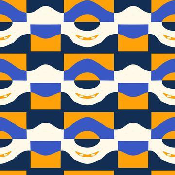 3 colors pattern