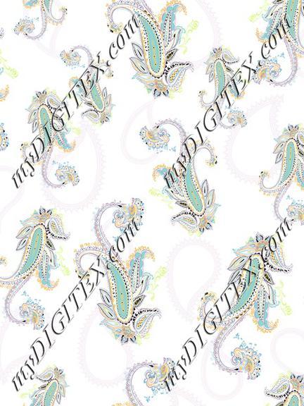 Fashion Paisley print