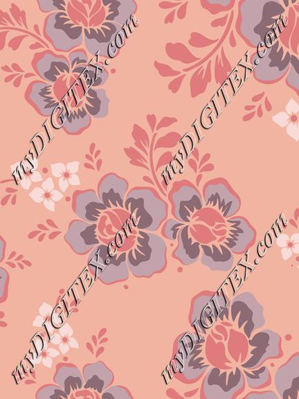 flowers-5657172 seamless pattern peach