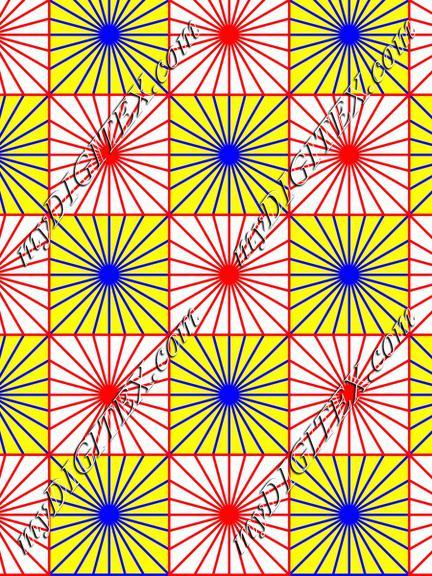 Stars in squares