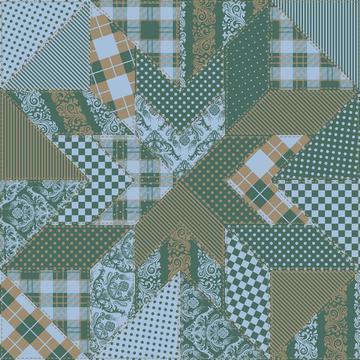 Cheater Quilt (Calm Palette)
