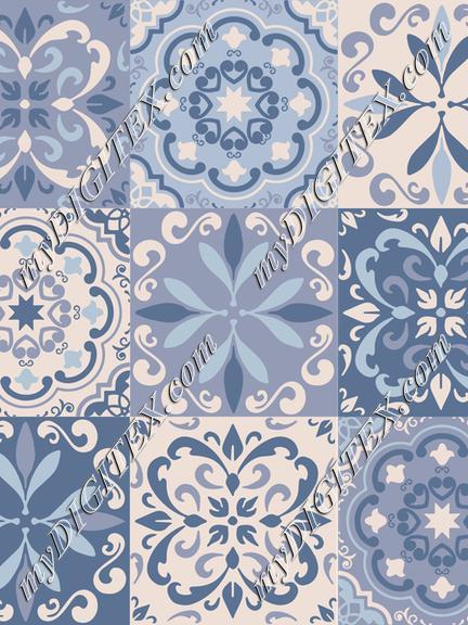 Bllue Ceramic Tiles