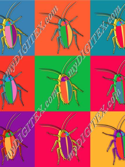 retro cockroaches