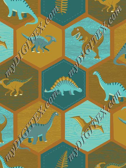 Dinosaur Hex - Brick