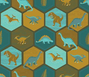 Dinosaur Hex - Brown