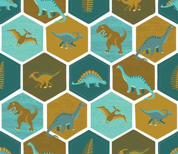 Dinosaur Hex - White