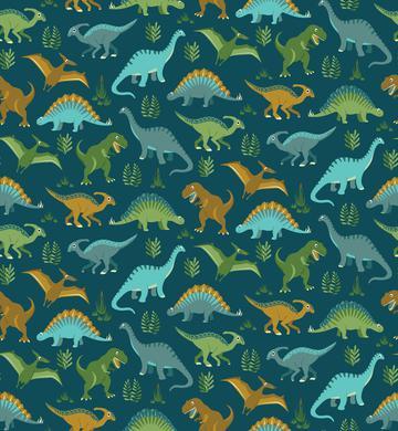 Dinosaur Vegetation Scatter - Deep Sea