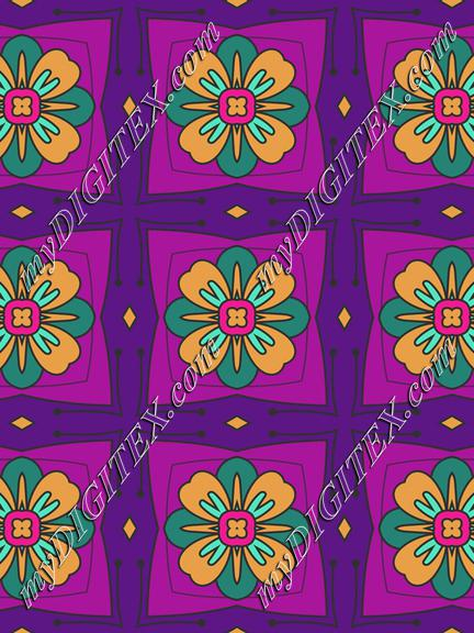 Flowers un squares
