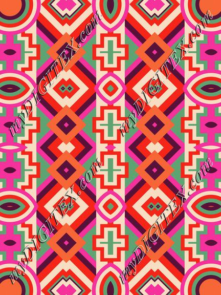 Tribal shapes rows