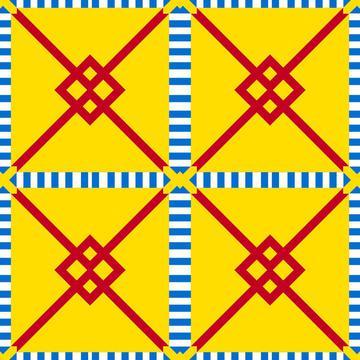 Striped squares