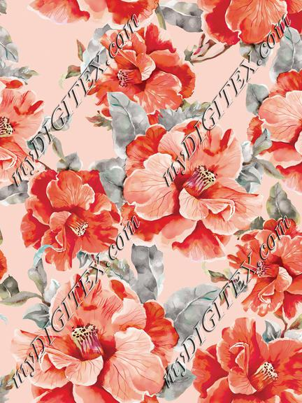 Floral Design Print
