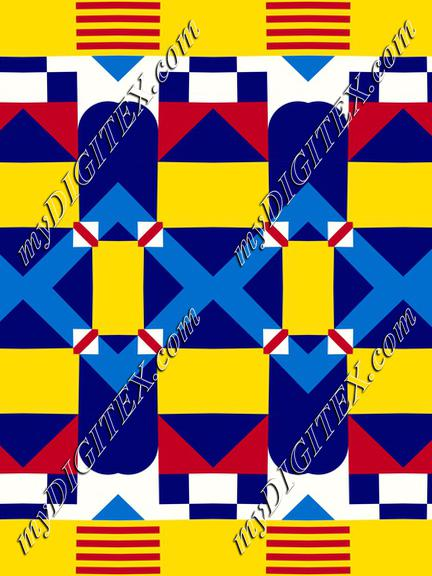 Rhombus and stripes