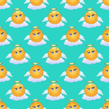 Angel smiles pattern