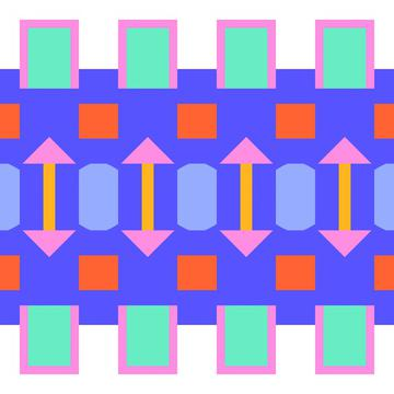 Shapes rows
