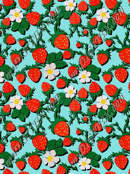ROS033121EmbroideredStrawberriesCompositionBlue100%