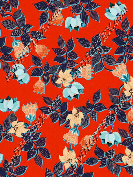 ROS060321EmbroideredFloralRed100%