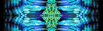 _blue crystal print