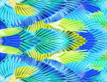 _Gabi feather print 2