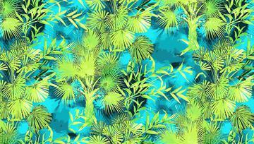 _!Green Palms print_lighter