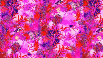 _!Red Palms print_lighter