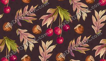 Autumn Splendour - Leaves, Nuts and Berries