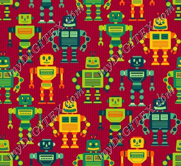 Robot Cohort - Red