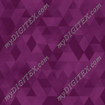 Watercolour Polygonal Triangles - Purple