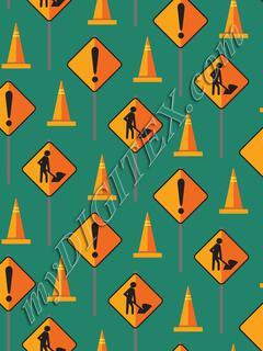Construction Signs & Cones - Jade
