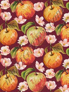 Autumn Splendour - Apples & Blossoms - Mulberry