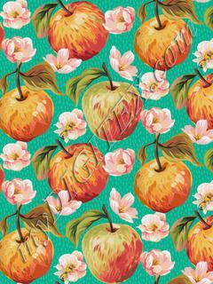 Autumn Splendour - Apples & Blossoms - Spearmint
