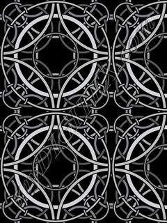 Rondo Tile Black_RAYMOND WARE