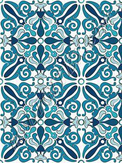 Calvert Repeat Tile_RAYMOND WARE