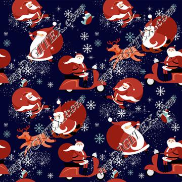 Scooter Santa